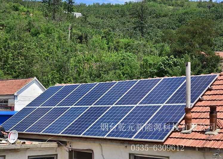 烟台屋顶太阳能发电项目