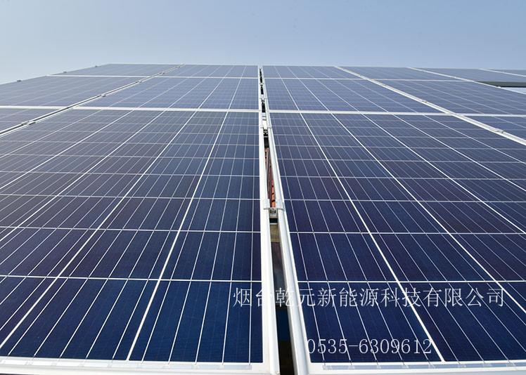 大杨家张贵臣7.56kwp烟台光伏发电项目